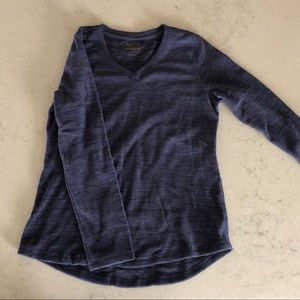 Fleecy V-Neck Pullover